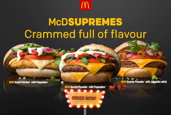 McDonalds McDSupremes Online Video