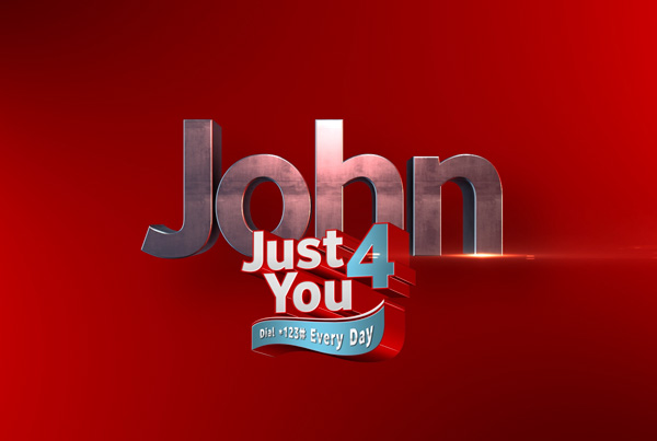 Vodacom Just 4 You Personalisation Video